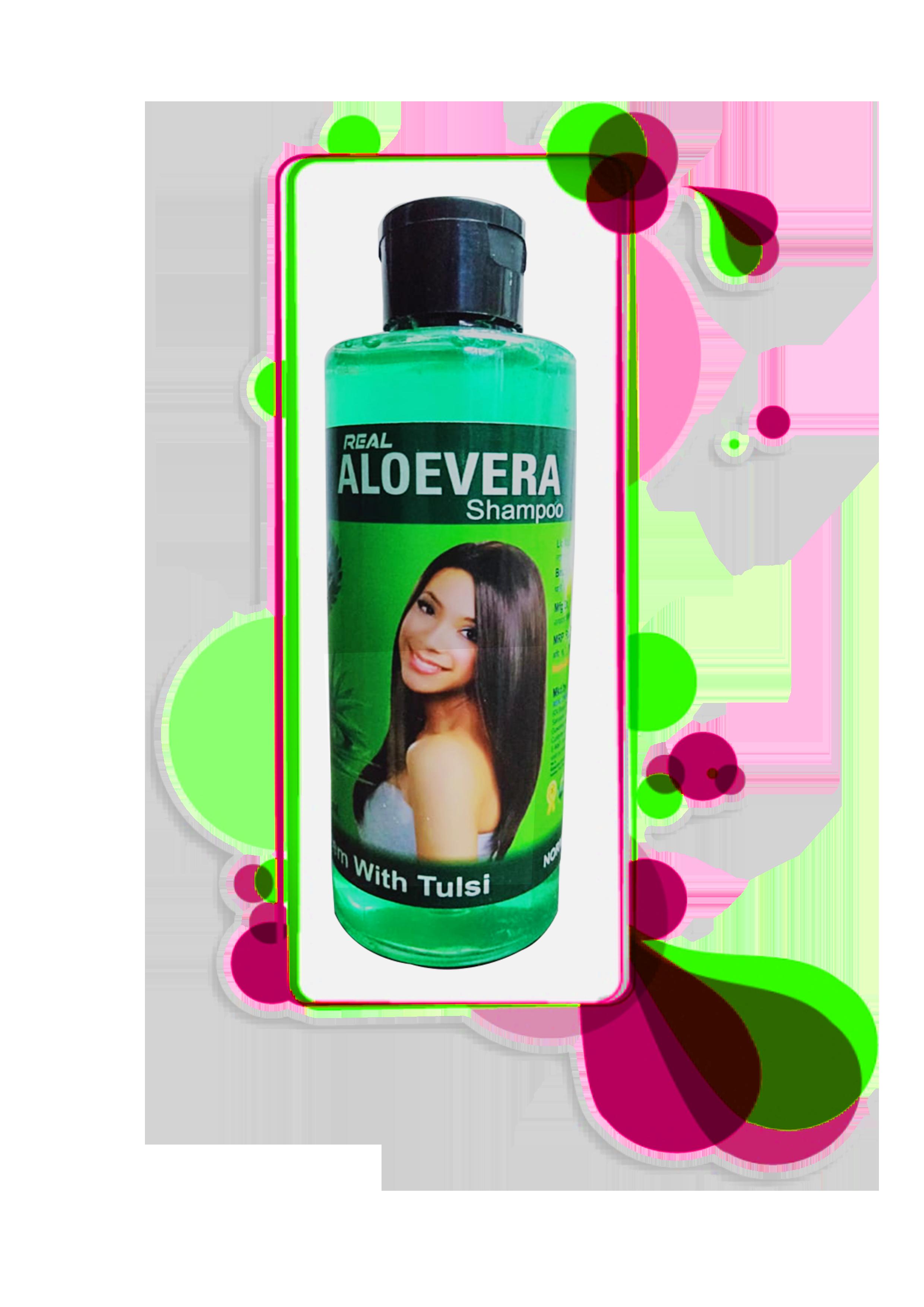 Real Aloe vera shampoo 200 ml