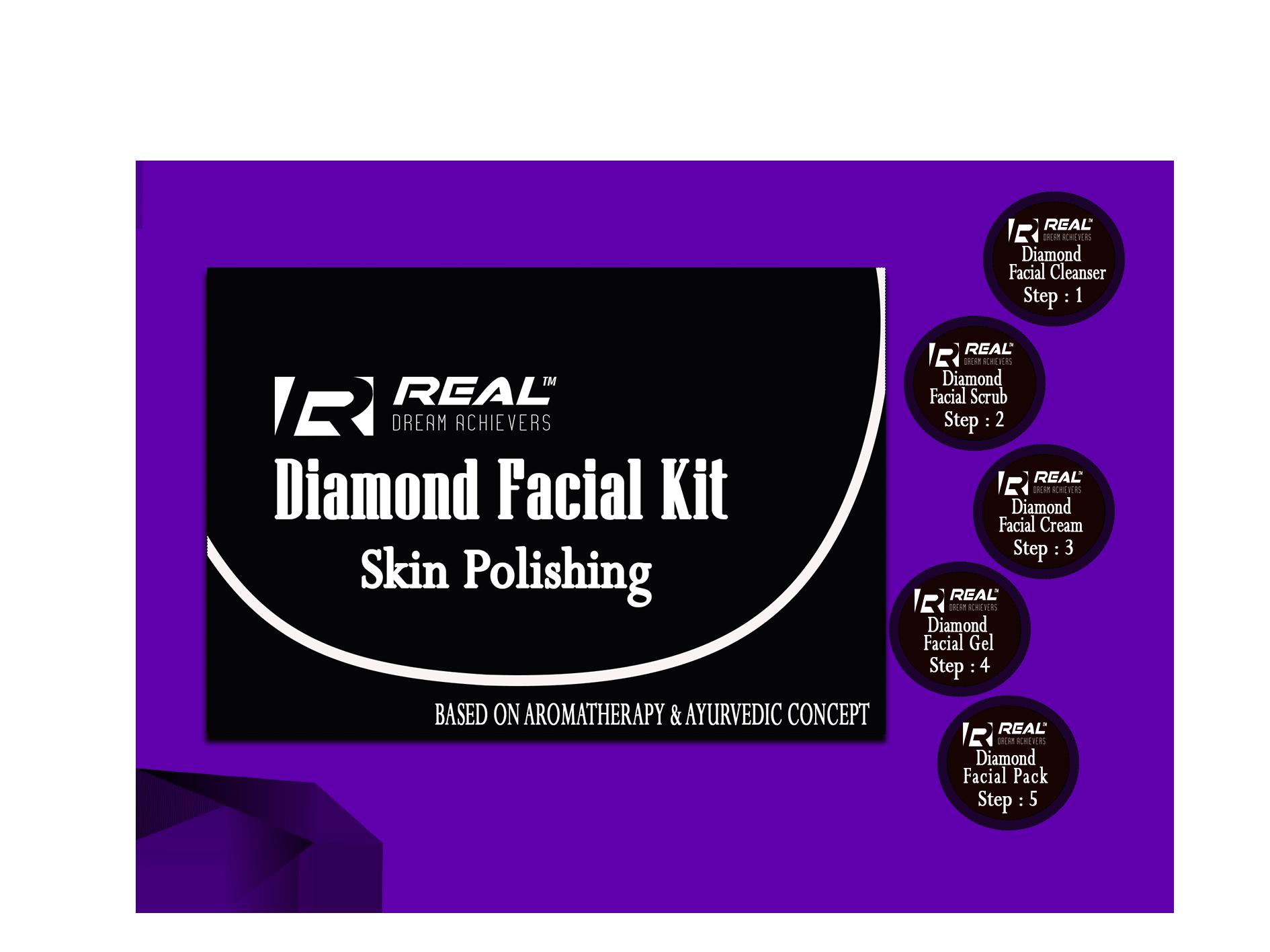 Real Diamond Facial Kit
